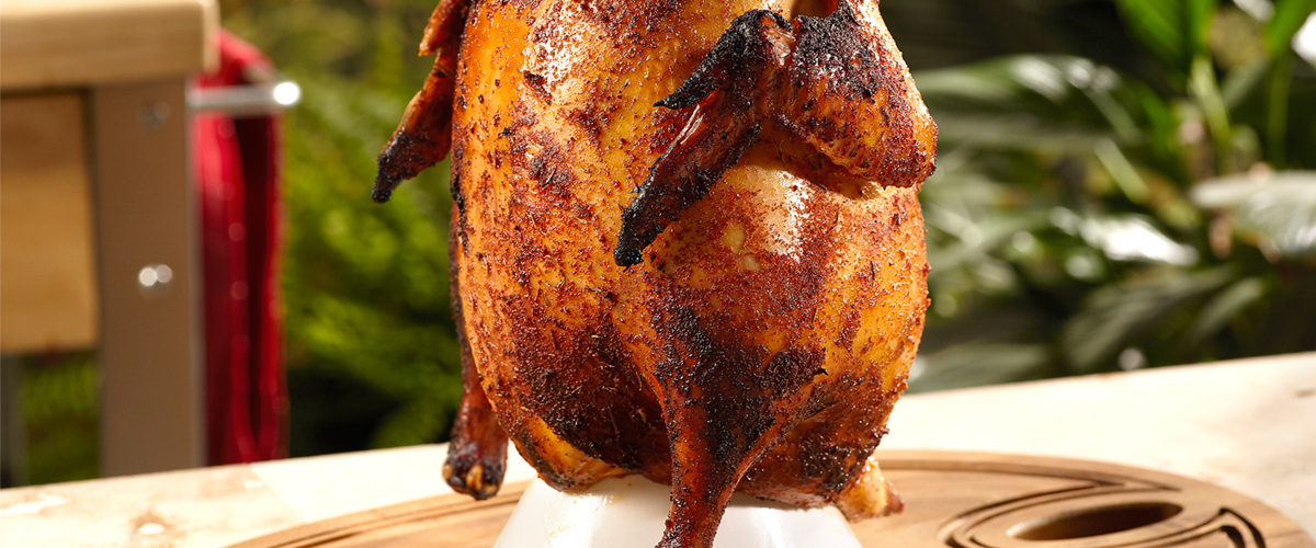 Beer Can Chicken Big Green Egg