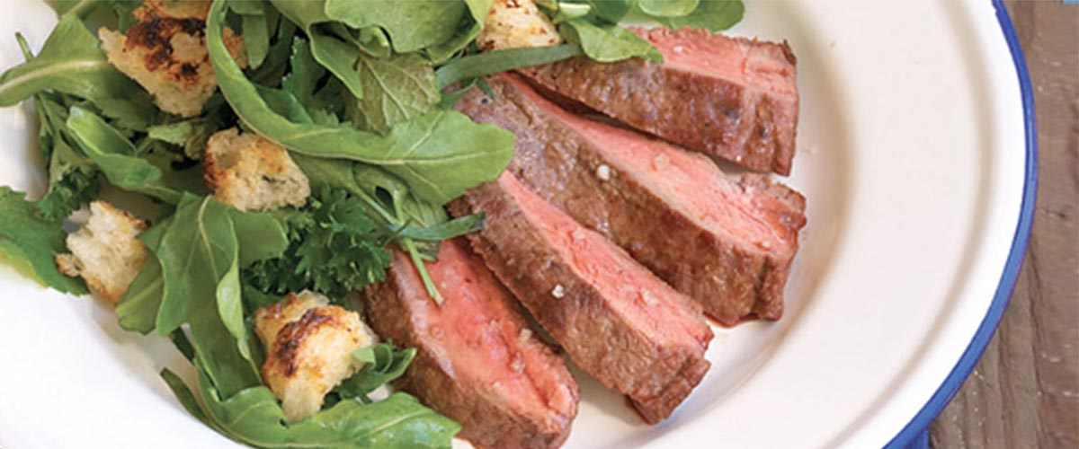 Lynne Curry's Grilled Top Blade Steak