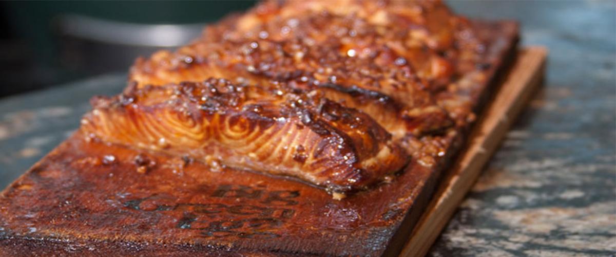 Gena Knox's Planked Salmon