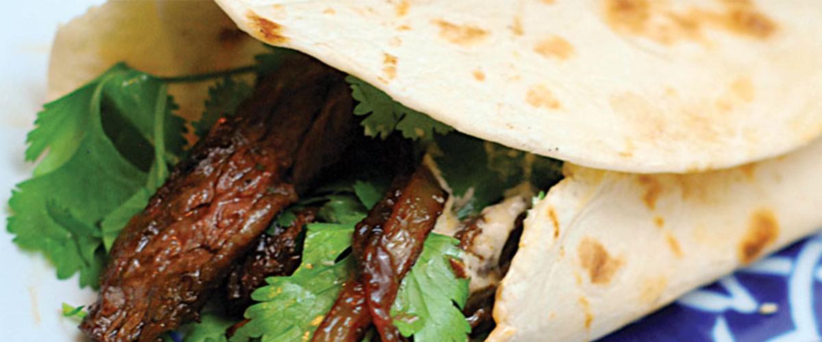 Robyn Lindars' Skirt Steak Fajita