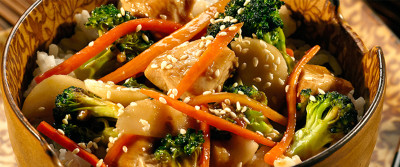 Chicken Vegetable StirFry