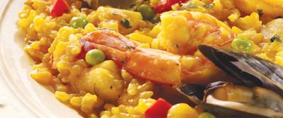 Shellfish and Chicken Paella