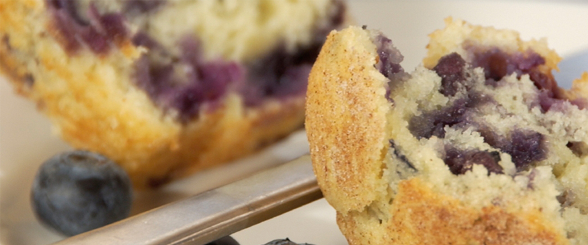 King Arthur Flour's Blueberry Muffin