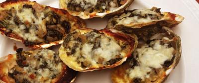 Linkie Marais' Rockefeller Oysters