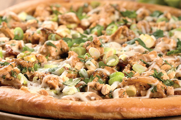 King Arthur Flour's Thai Pizza