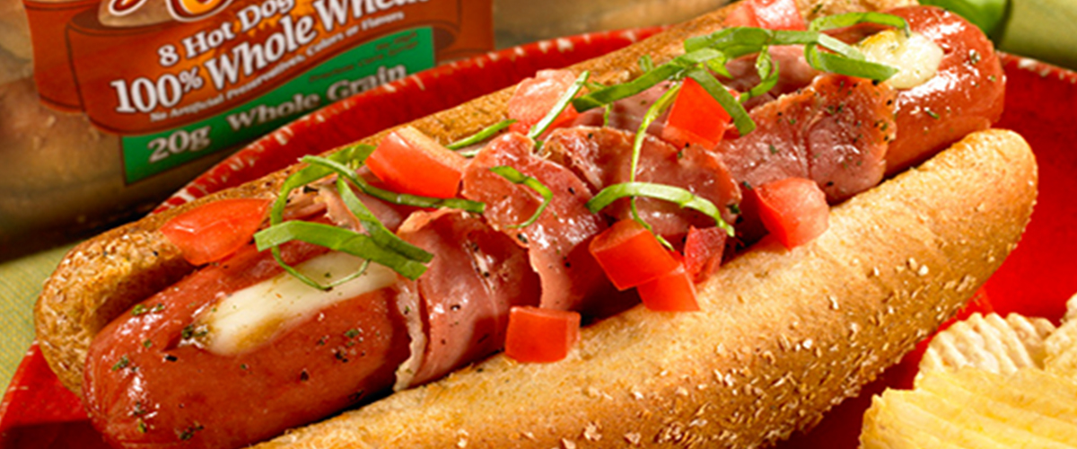 Natures Own Prosciutto Cheese Dog