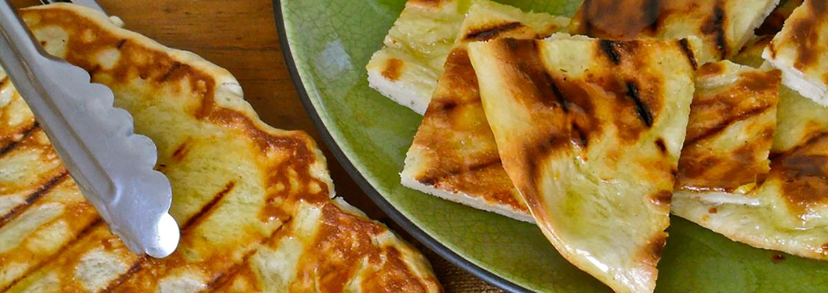 Cabot Cheese's Garlic Cheddar Flatbread