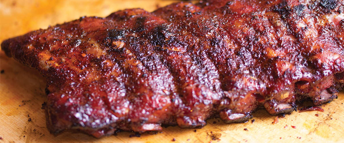& Famous Daveu0027s Five Star BBQ Sticky Ribs | Big Green Egg