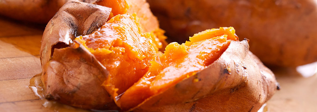 Ted Reader's Bourbon Sweet Potato