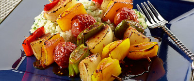 Better Than Bouillon's Bell Pepper Kabobs