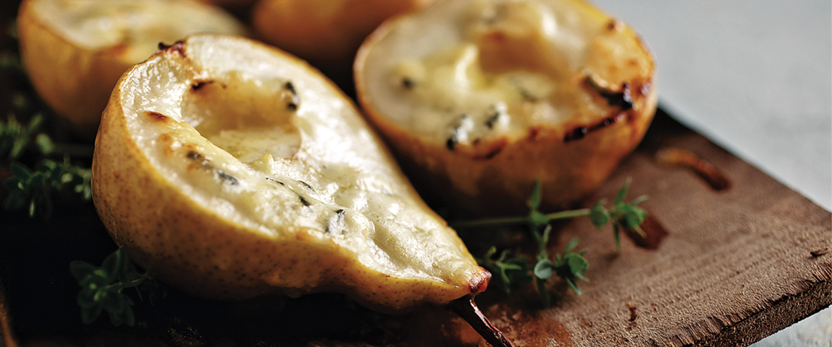Planked Pears