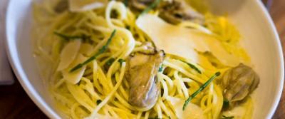 Brian Landry's Oyster Spaghetti