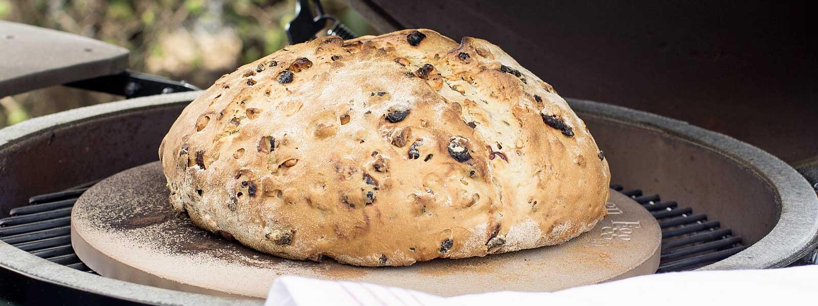 Durum Bread baked on the Big Green Egg