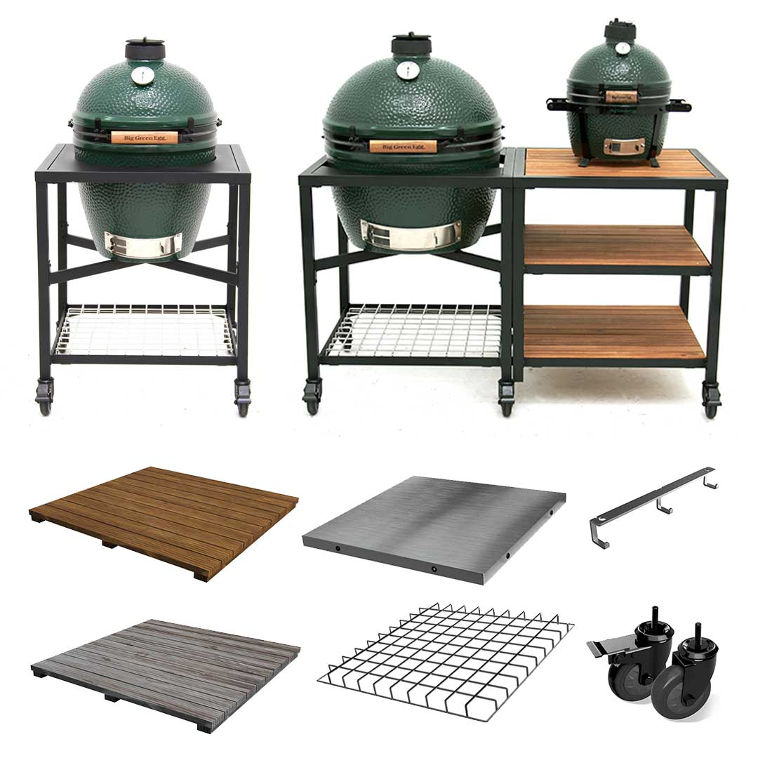 New Big Green Egg Modular Nest System Big Green Egg