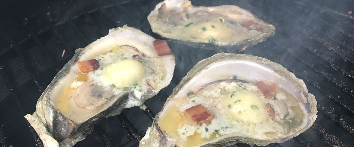 Blue Cheese Compound Butter Oysters