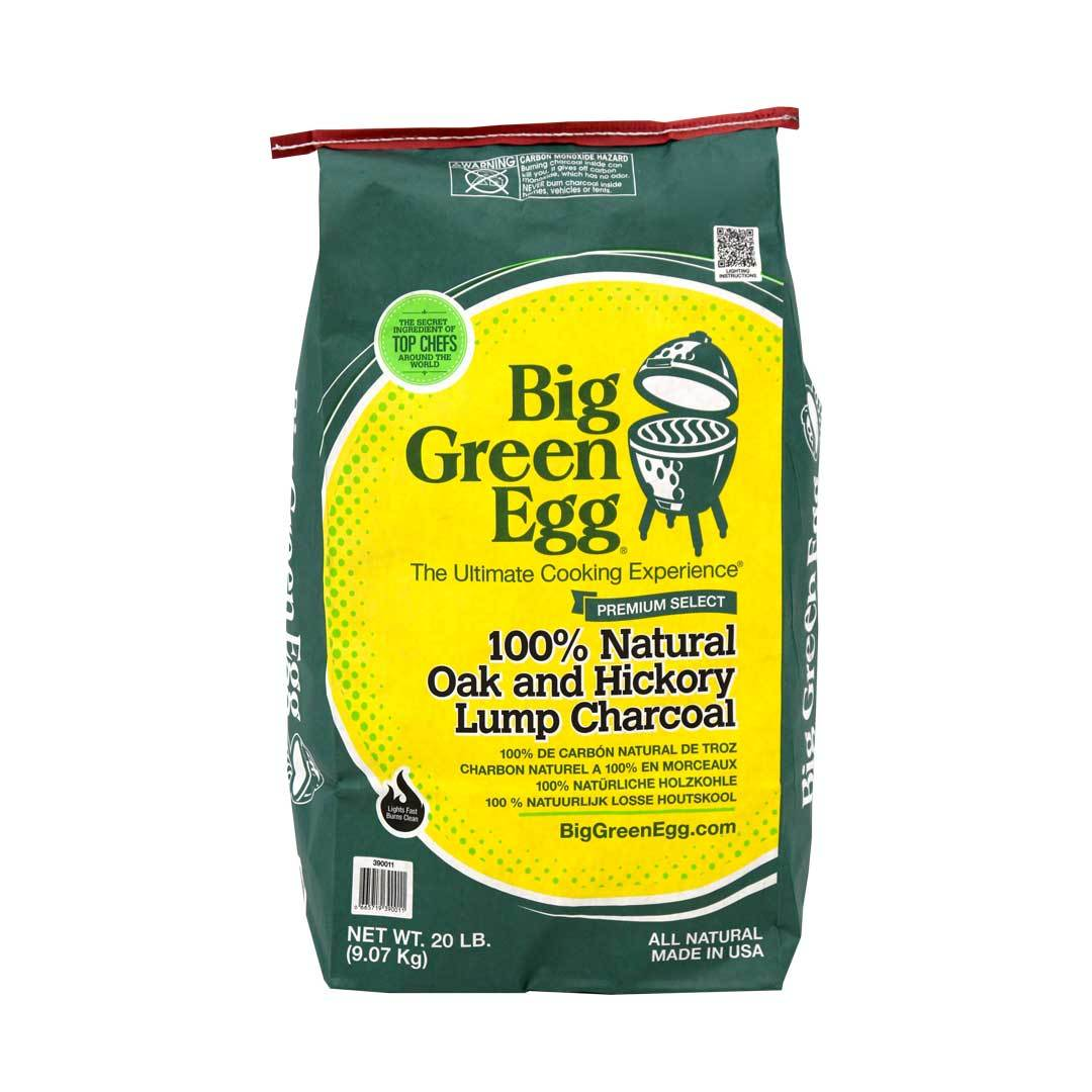 Big Green Egg 100% Natural Oak and Hickory Lump Charcoal