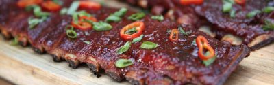 Smoked Spicy Korean Spare Ribs