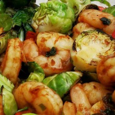 Ginger Garlic Shrimp Stir Fry
