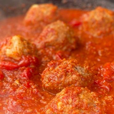 Italian Spaghetti Sauce and Meatballs