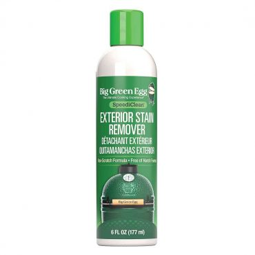 Green can of Exterior Stain remover