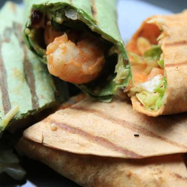 Grilled Shrimp and Taylor Farms® Tangerine Crunch Wraps