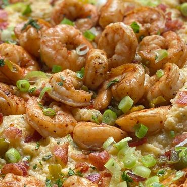 Hatch Chile Shrimp and Grits