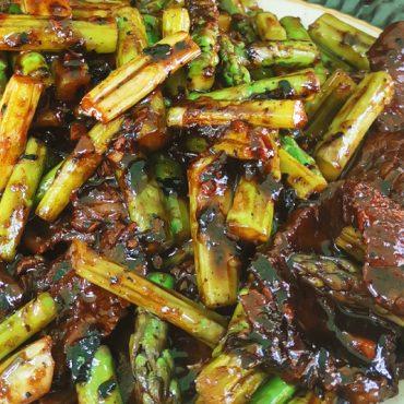 Beef Asparagus Stir Fry