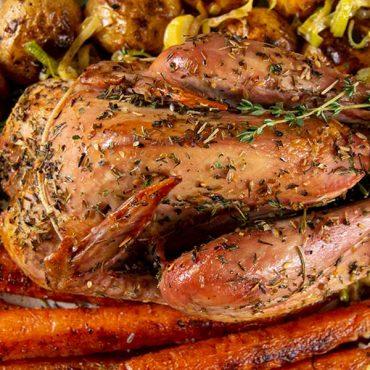 Whole Roasted Pheasant