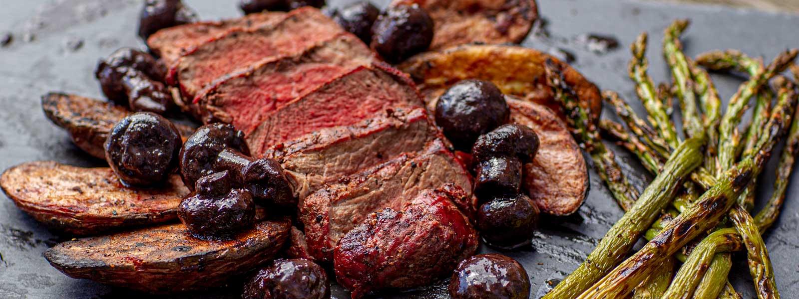 Seared Bison Filet