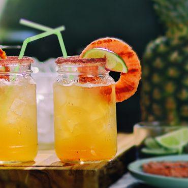 GrillPink Pineapple Margarita