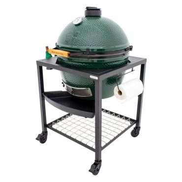 XL BGE Grill in Modular Nest Egg Frame with 3 piece Accessory Kit