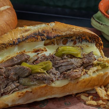 Shredded Beef Sandwich