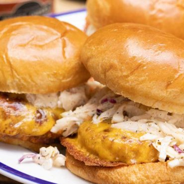 Smokehouse Chicken Burgers